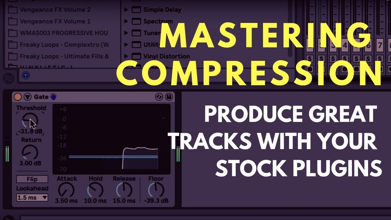 Mastering Stock Plugins for Music Production: Compressor Plugins (3