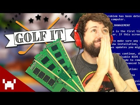 BLESS THE MEMORY LEAKS! | Golf It! Custom Levels w/ Ze, Chilled, GaLm, & Smarty