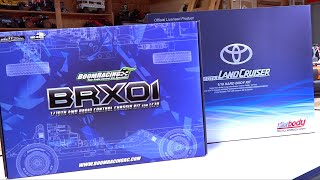 Brx01 Boom Racing Build! Toyota Lc70 Land Cruiser Truck Eps 1 - Unboxing | Rc Adventures