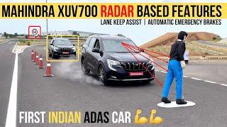 Download Mahindra XUV700 ADAS (Radar & Camera Based Features) | Lane Keep Assist | Auto Emergency Brakes