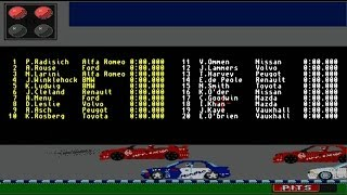 AMIGA Touring Car Challenge AMIGA OCS 1994 By OTM Publications Disk 1 of 2 adf zip