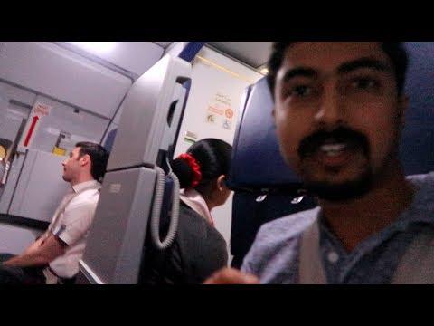 എയർ ഹോസ്റ്റസ് സീറ്റിൽ ഇരുന്നു ഉള്ള യാത്ര JUMP SEAT |COCHIN TO SHARJAH  AIR ARABIA FLIGHT