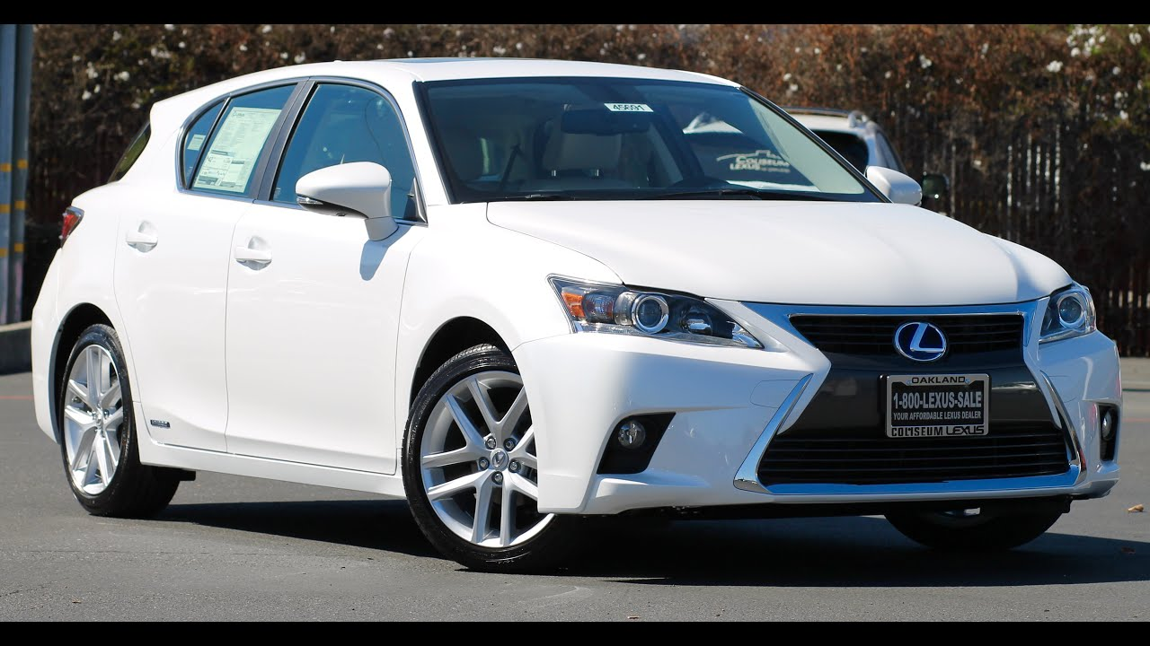 2017 Lexus CT200h Walkaround