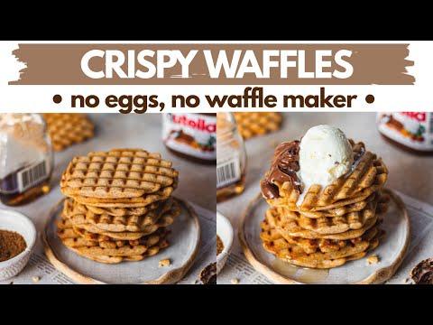 crisp-waffles--no-eggs,-no-waffle-maker,-no-oven-|-lock-down-eggless-waffles-without-waffle-iron