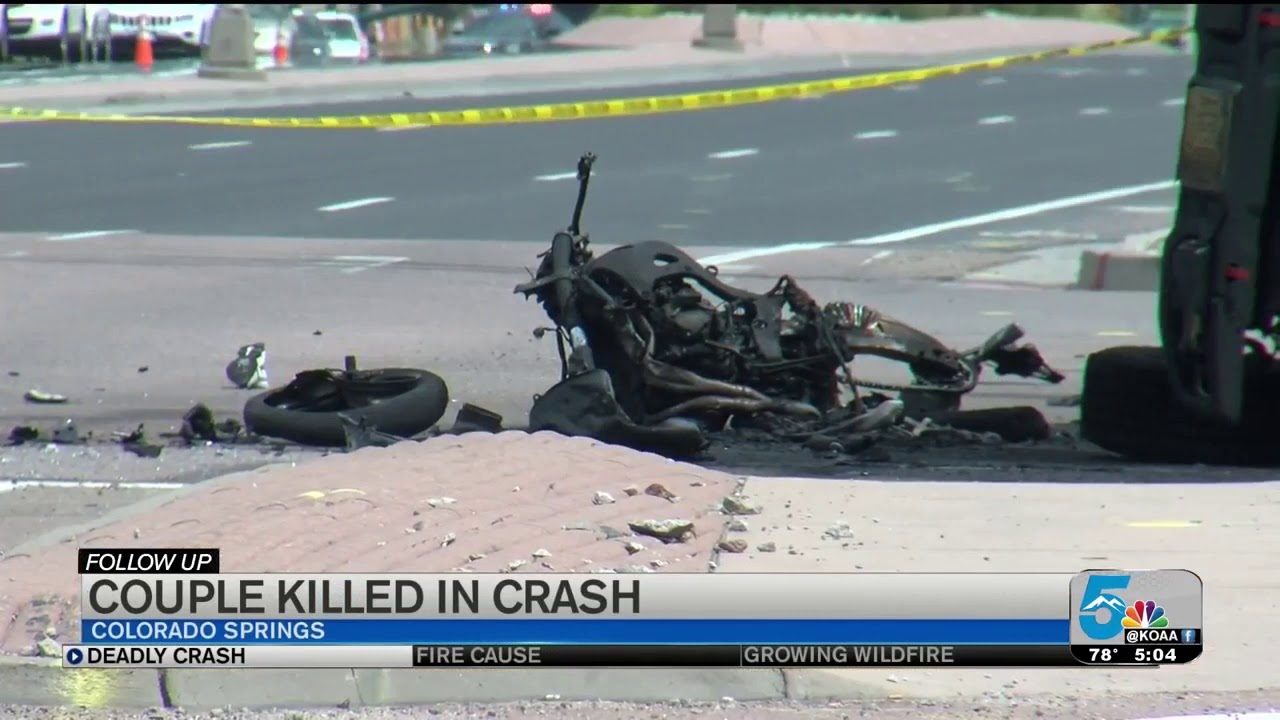 Couple who recently moved from Texas killed in motorcycle crash on Woodmen  Rd