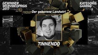 tinNendo gewinnt den Webvideopreis in der Kategorie Gaming!