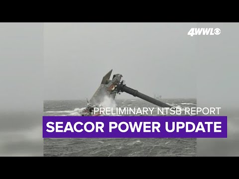 New report details what happened just before Seacor Power capsized