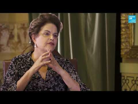 """Dilma Rousseff em entrevista exclusiva a France 24: """"Eles estão tentando concluir o golpe"""""""