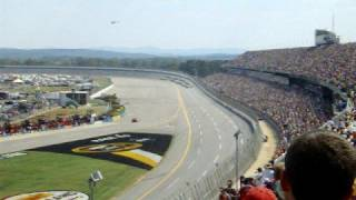 First lap of 2008 Amp Energy 500 at Talladega Superspeedway