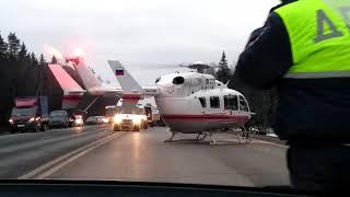 Страшное ДТП на киевском шоссе 4 января 2018 г. Шестеро пострадавших.