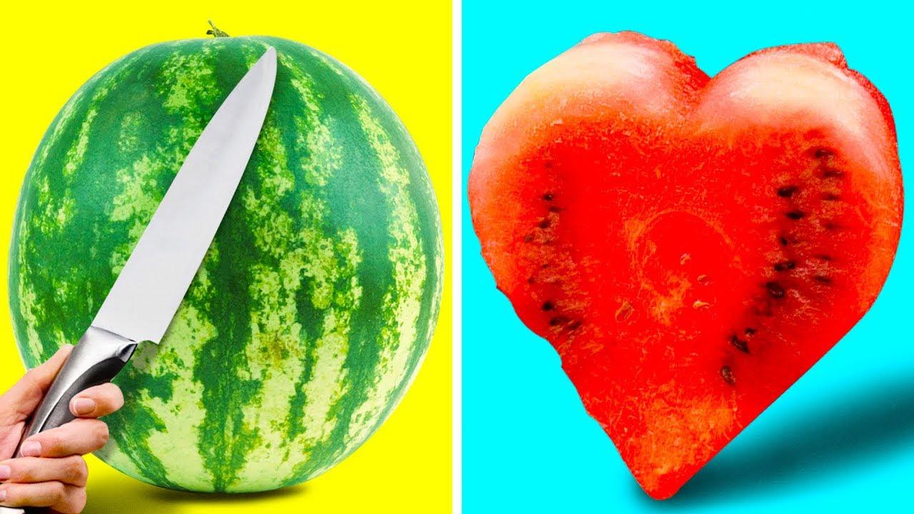 Супер трикови со лубеница
