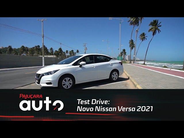Test Drive: Novo Nissan Versa 2021