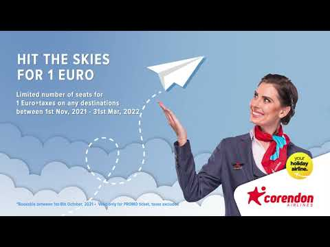 HIT THE SKIES FOR 1 EURO