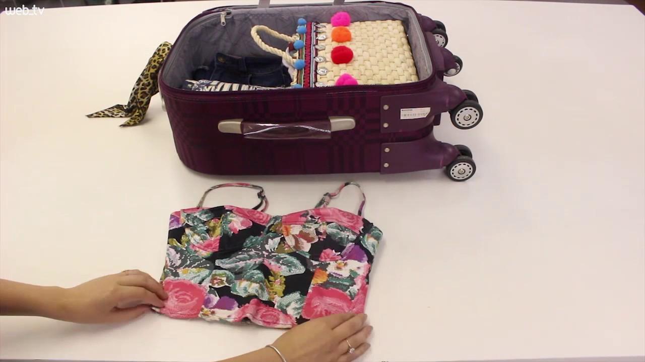 165a2f1f80 Aprenda como fazer a mala para ir à praia - YouTube