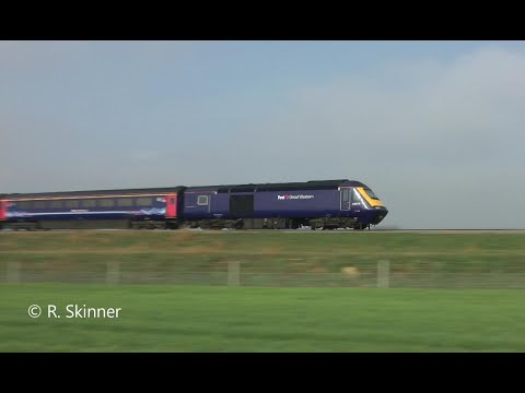 HSTs Running On The Great Western Mainline At 125mph In 1 Min 25 Seconds