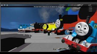 Thomas causando problemas!!! | Thomas y amigos Thomas el motor del tanque en Roblox
