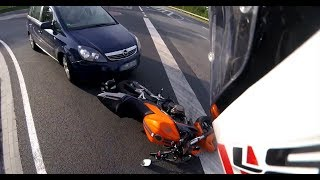 Extremely Close Calls, Road Rage, Crashes, Angry People & Scary Motorcycle Accidents  EP #93]