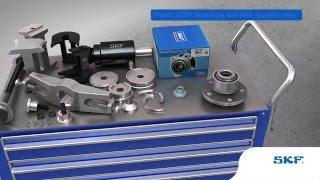 SKF - Správná montáž a demontáž kolových ložisek přípravky SKF VKN 600, VKN 601 a VKN 602-1