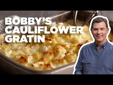 Cheesy Cauliflower Gratin with Bobby Flay | Food Network