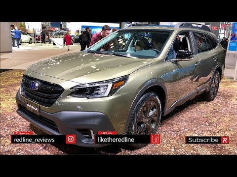 2020 Subaru Outback – Redline: First Look – 2019 NYIAS