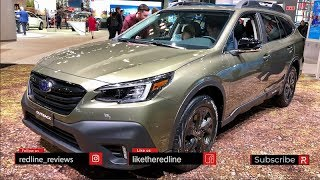 2020 Subaru Outback – Redline: First Look – 2019 Nyias