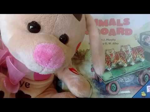 "Carnival! ""Animals on Board"" by Stuart Murphy- Story & Math-Beginner- Books read to kids aloud!"