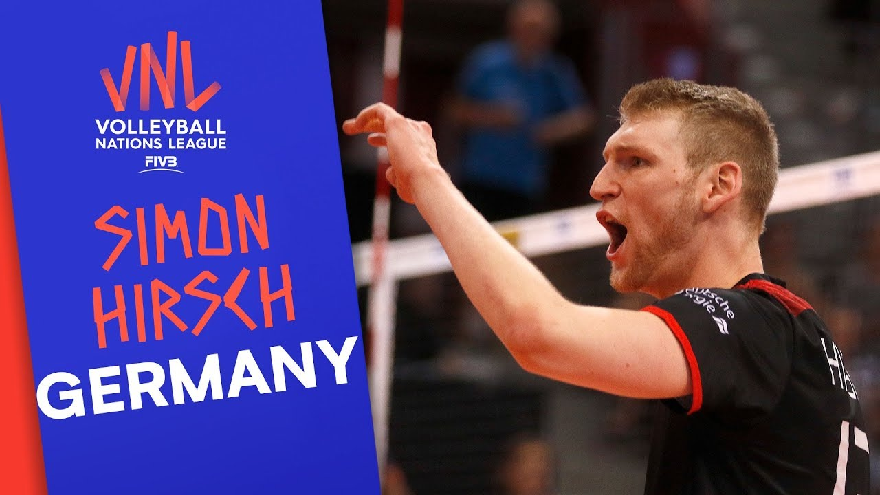 Simon Hirsch and Germany are dedicated to winning | VNL Stars | Volleyball Nations League 2019