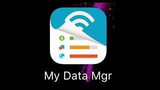 Ne pas exploser son forfait 3G 4G - My Data Manager - App GRATUITE!!!