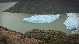 В Чили от ледника Грей откололся огромный айсберг. Что произошло на нашей Планете 11 декабря 2017
