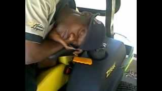 sleeping on the job ( in a Nature reserve)