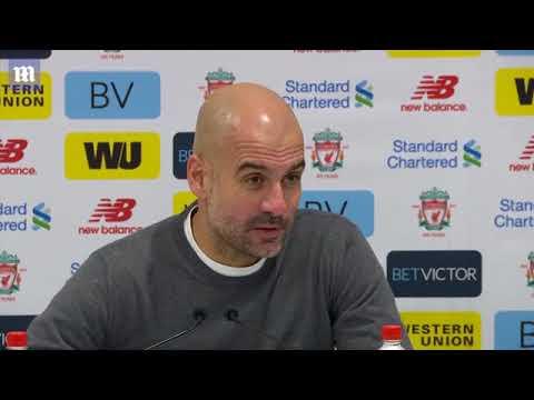 Pep Guardiola congratulates Liverpool on fantastic win