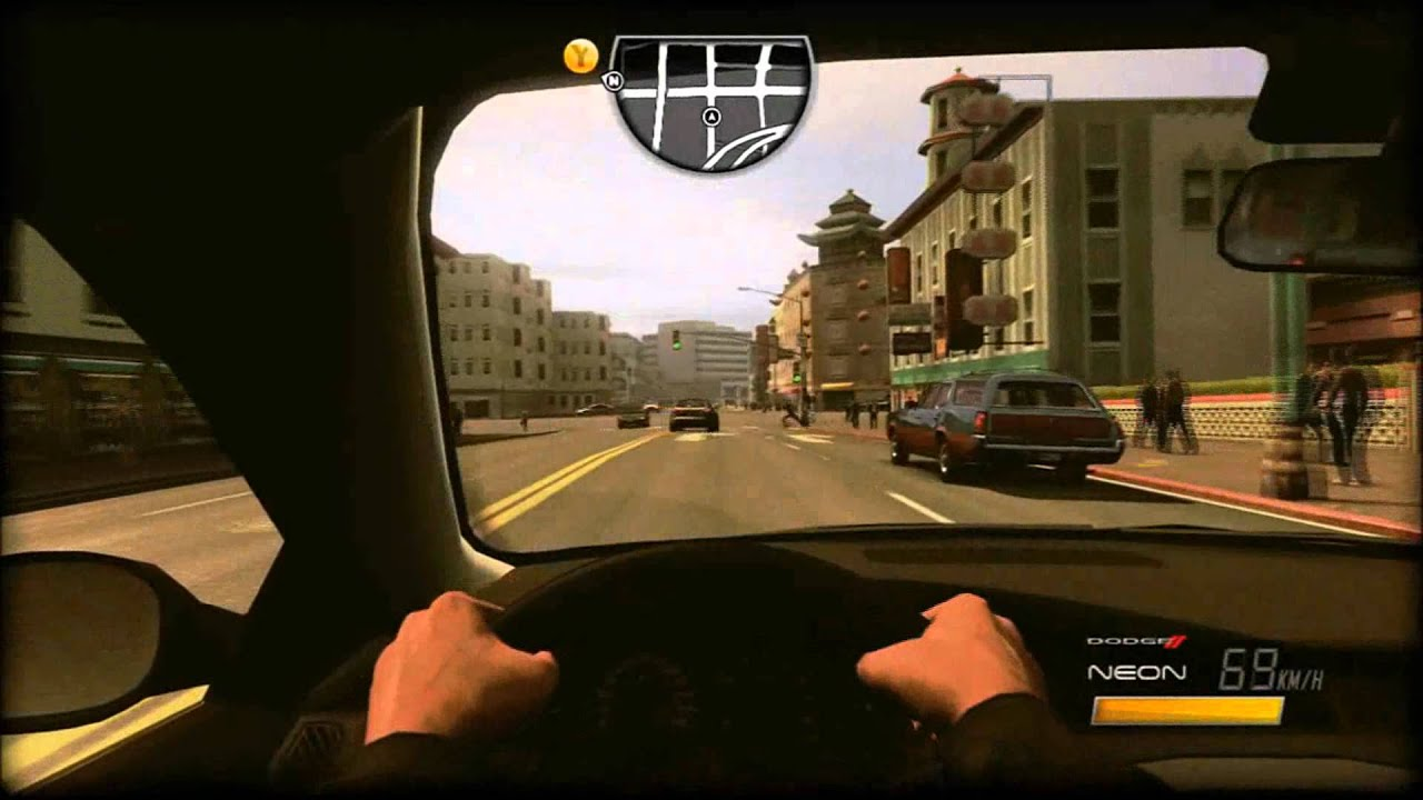 driver san francisco ps3 voiture cach. Black Bedroom Furniture Sets. Home Design Ideas