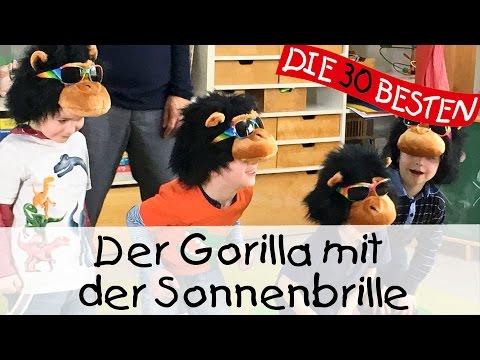 Der Gorilla mit der Sonnenbrille - Singen, Tanzen und Bewegen || Kinderlieder