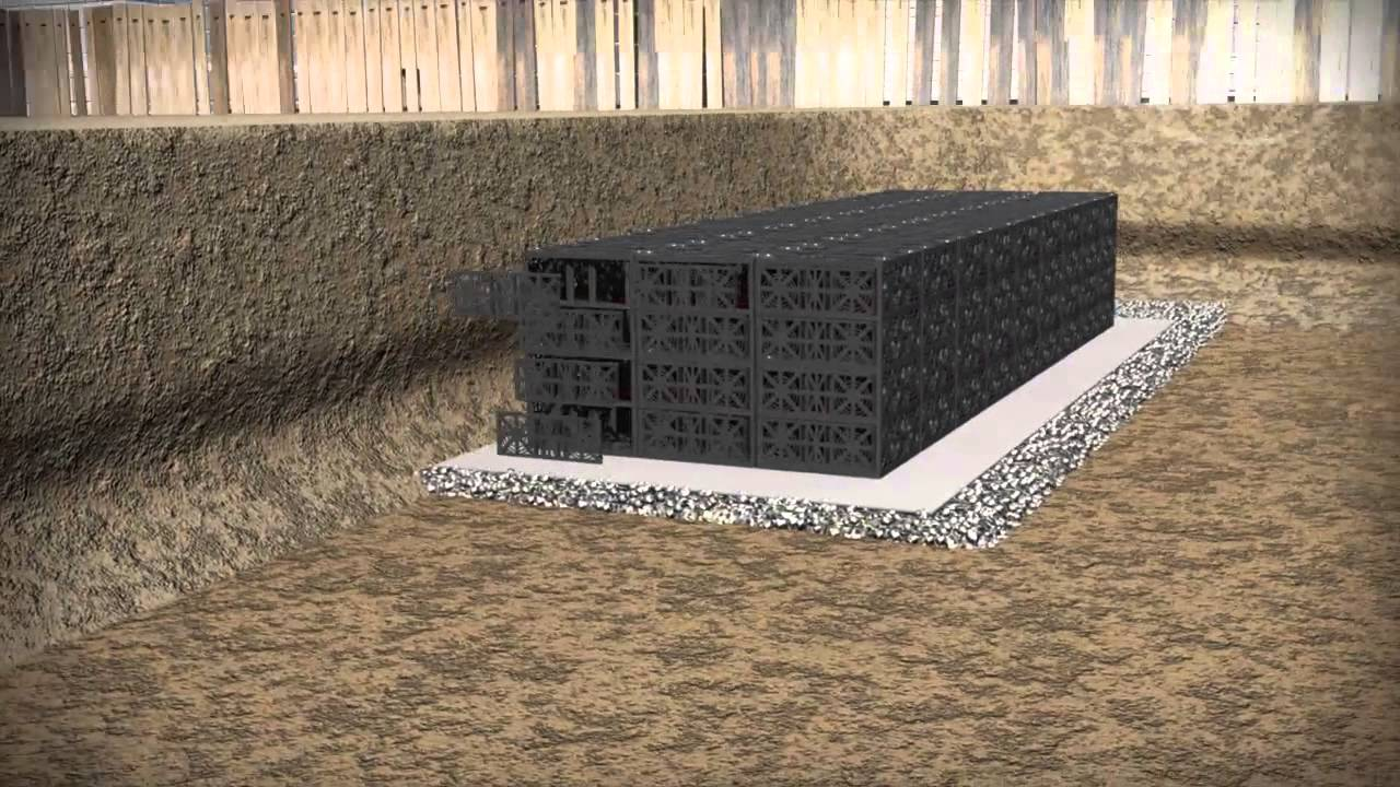 Stormwater Management With The Graf Ecobloc Youtube