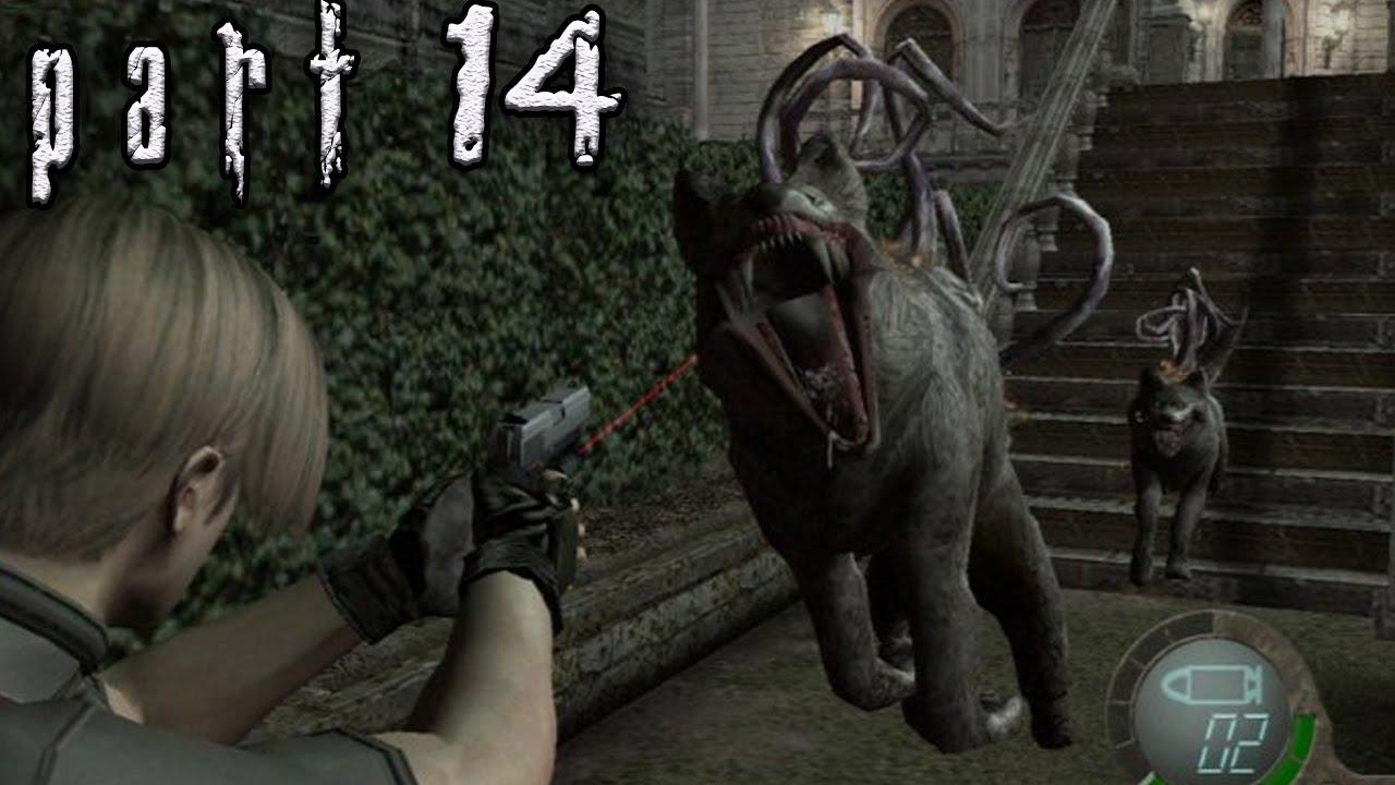 Resident Evil 4 Professional Walkthrough Part 14 Garden Maze
