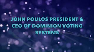 Come Research With Me   Dominion Voting Systems Part 1B - John Poulos 1
