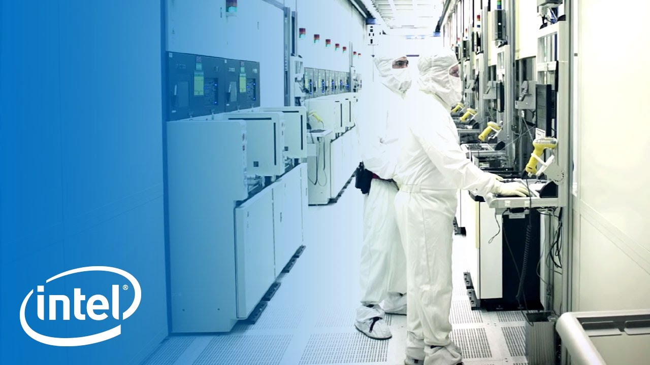 Working in the Clean Room | Inside the Fab | Intel - YouTube