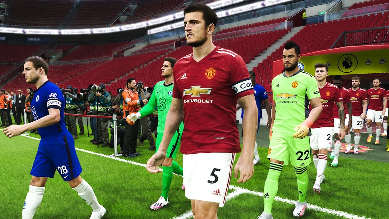 Manchester United Vs Chelsea Fa Cup Semi Final 2020 Gameplay Youtube