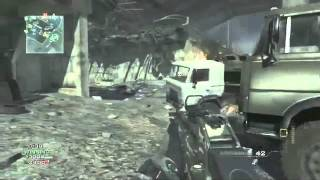 Call Of Duty - Modern Warfare 3 (Online Gameplay Team Death Match M4A1)