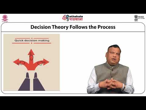 Fundamental of Decision Theory: Decision making under uncertainty, certainty and risk