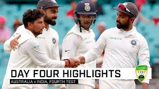 Kuldeep carnage amid weather delays | Fourth Domain Test