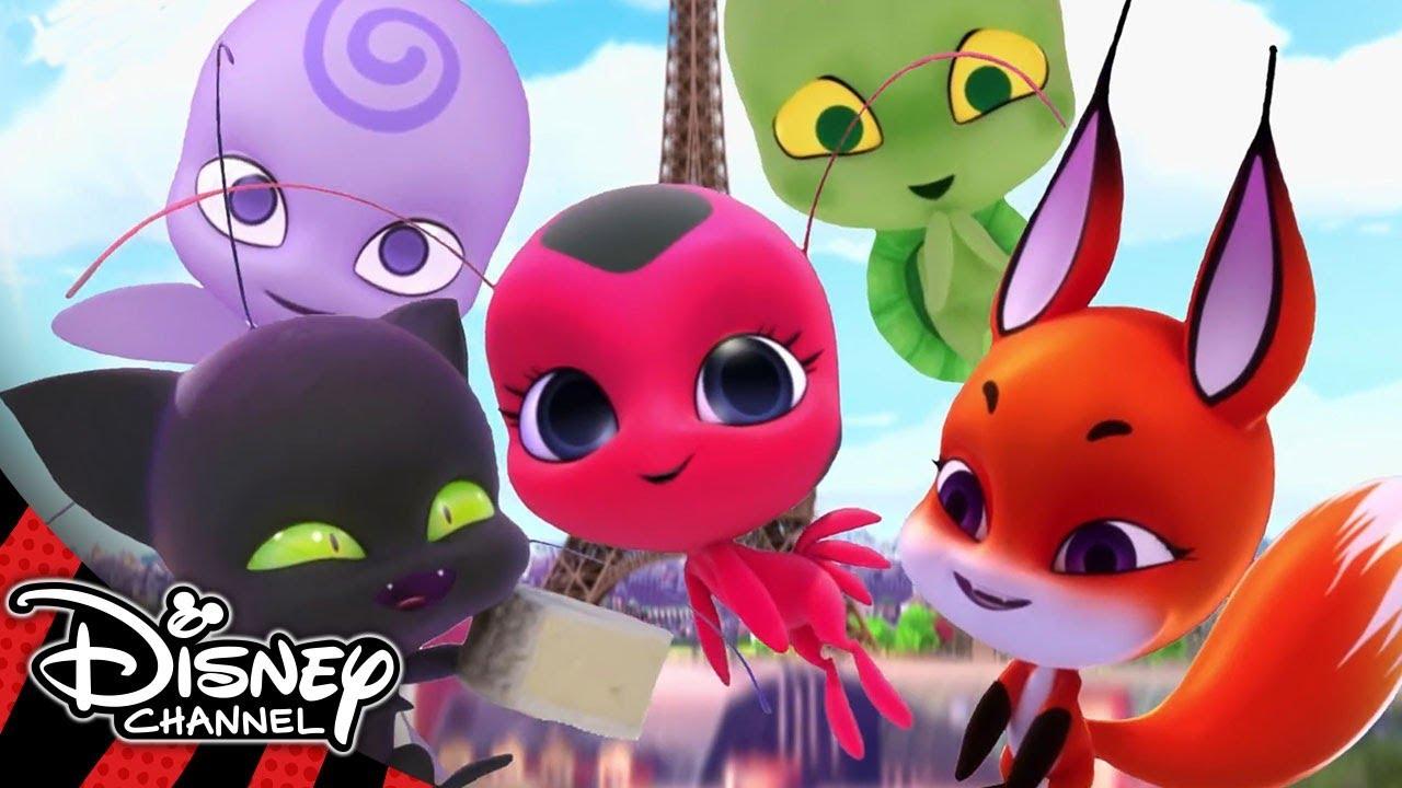 Miraculous Ladybug Meet The Kwamis Disney Channel Uk Youtube
