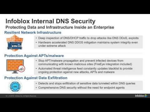 Introducing Infoblox Internal DNS Security - Infoblox