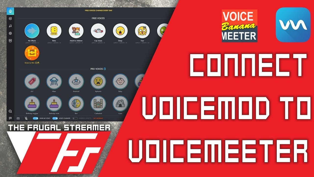 Voicemod Guide 2018: Best Voice Changer for Streaming and It Works with  Streamdeck! by The Frugal Streamer