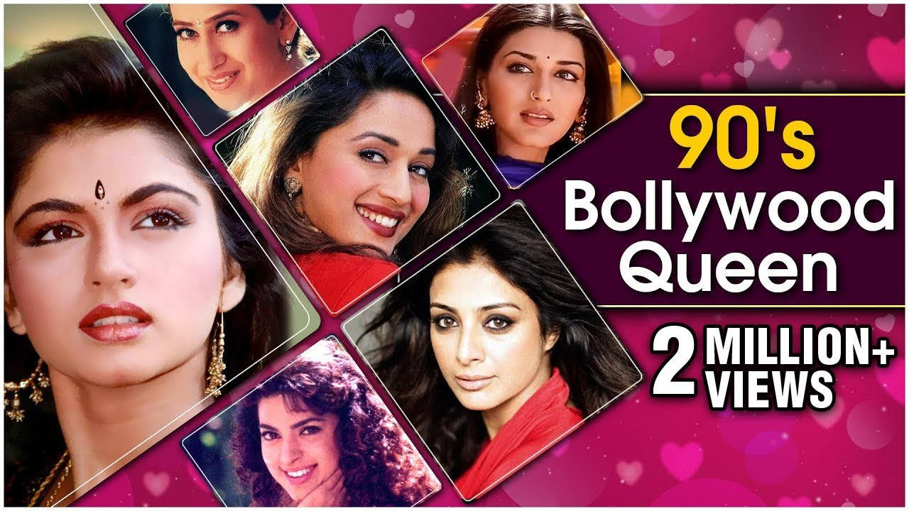90's Bollywood Queens | Bollywood Heroine's |Bollywood 90's Beauty|Old Hindi Songs |