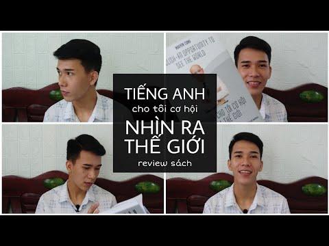 [Vlog 14] REVIEW SÁCH   Tiếng anh cho tôi cơ hội nhìn ra thế giới   Trương Xuân Quốc