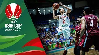 Best of Philippines v Qatar in Slow Motion - FIBA Asia Cup 2017