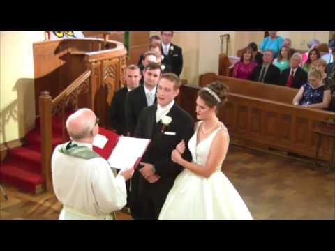 Wedding Lyon & Stein 9-16-17 St. John's Lutheran Church