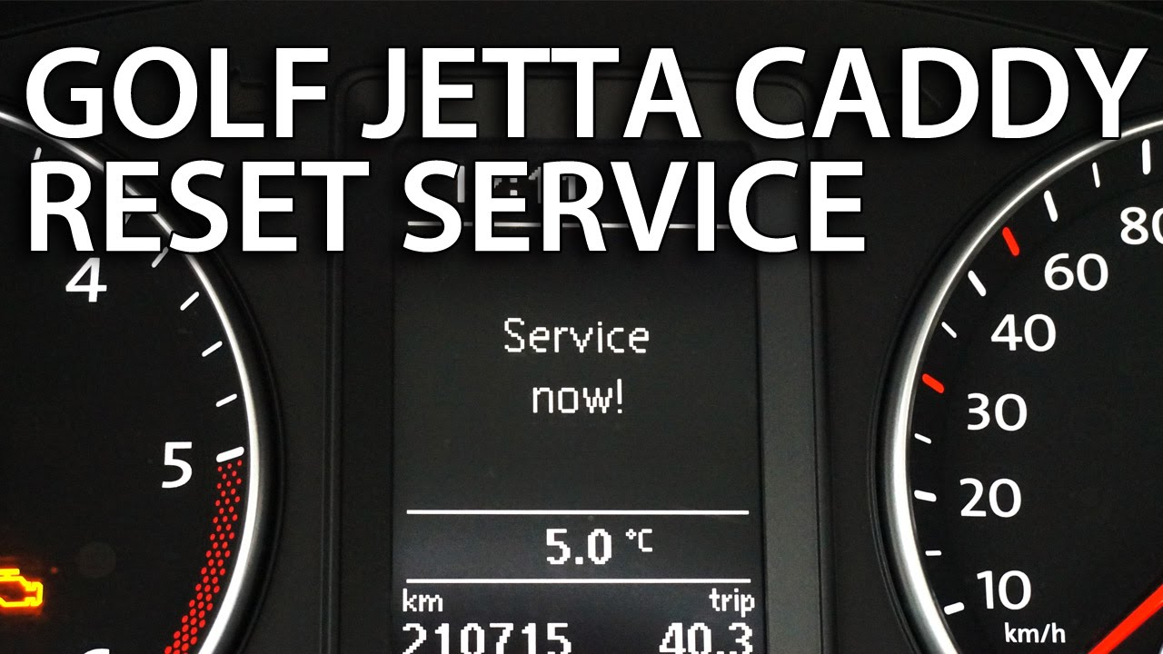 How To Reset Service Interval In Vw Golf Passat Jetta