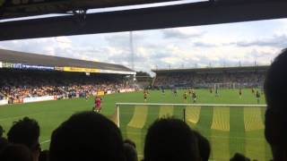 Cambridge united 1-0 Plymouth 1st game atmosphere